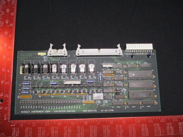NICOLET INSTRUMENT CORP 000-8673-01 PCB, ECO MOTOR CONTROL 413-117400