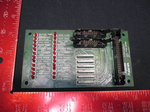 Applied Materials (AMAT) 0100-00056   PCB, Pnuematic Panel Interconnect