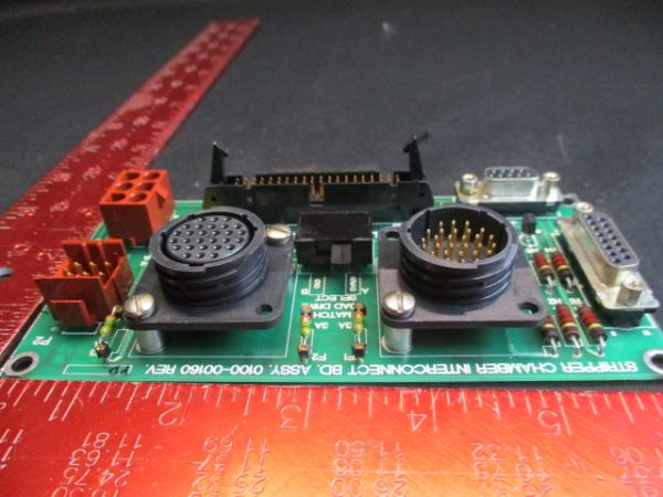 Applied Materials (AMAT) 0100-00160   pcb, stepper controller