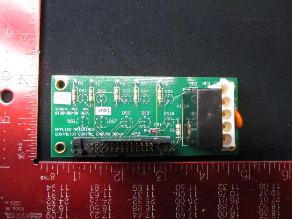 Applied Materials (AMAT) 0100-00490   PCB, Contactor Control