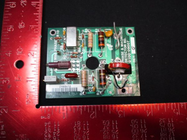 Applied Materials (AMAT) 0100-09007   Phase & Magnitude Detector PCB
