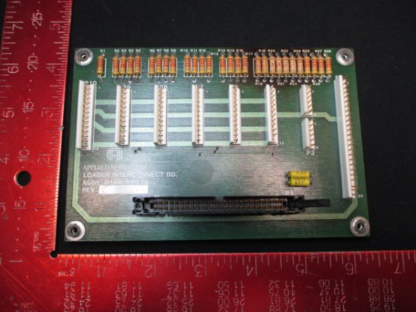 Applied Materials (AMAT) 0100-09028   PCB, Loader Interconnect