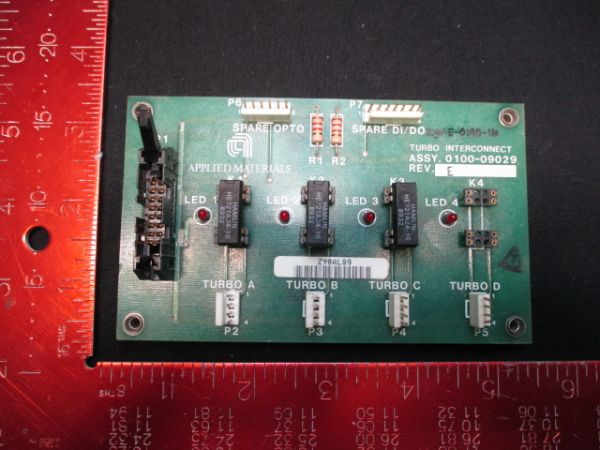 Applied Materials (AMAT) 0100-09029   PCB, Turbo Interconnect
