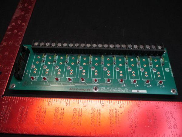 Applied Materials (AMAT) 0100-09040   PCB ,SSR AC CONTROL