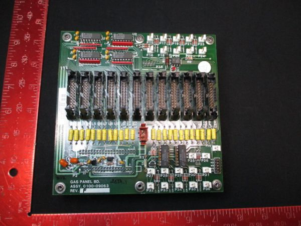 Applied Materials (AMAT) 0100-09063   PCB, Gas Panel