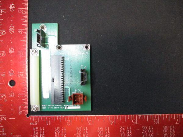 Applied Materials (AMAT) 0100-09079   Robot Motor Sensor