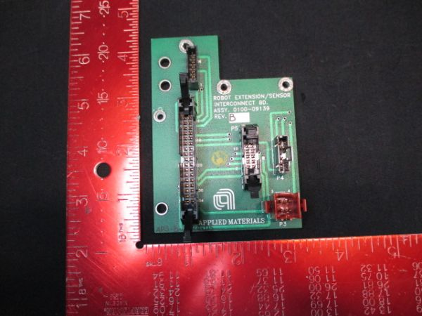 Applied Materials (AMAT) 0100-09139   PCB, Robot Extention