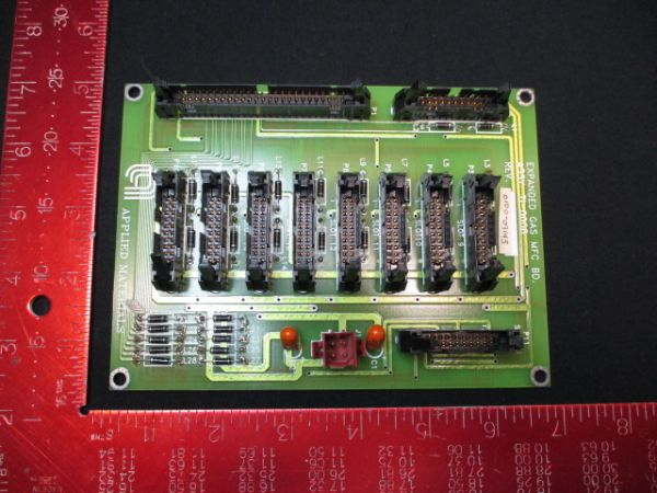 Applied Materials (AMAT) 0100-09143   PCB, Expanded Gas MFC