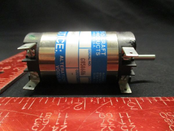 ELECTRO CRAFT 0350-00-000 SERVO MOTOR