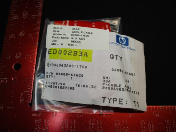 HEWLETT PACKARD (HP) 04089-61626 ASSY, F-CABLE