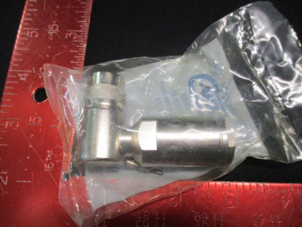 """Applied Materials (AMAT) 0720-03612   CONNECTOR, COAX TYPE """"C"""" RIGHT ANGLE RG217"""