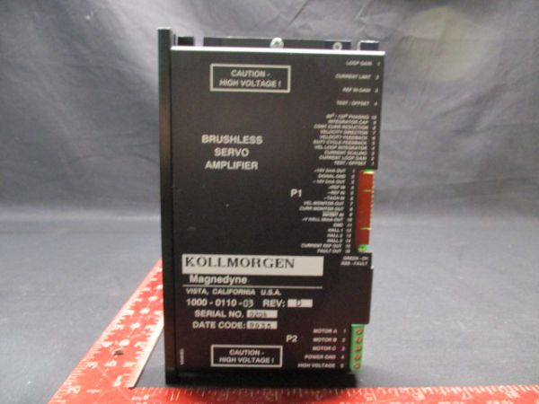 Applied Materials (AMAT) 0870-01061   DRIVER PWM SERVO DEFLECTOR AMPLIFIER