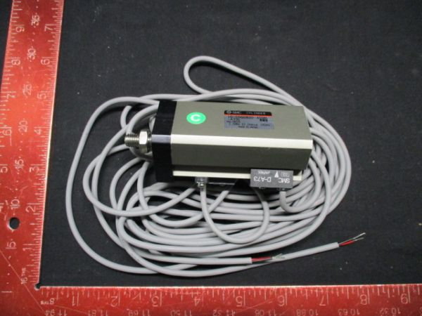 SMC 10-CDQ2B20-40DM-A73L CYLINDER MAX PRESS. 1.0MPa 10.2kgf/cm2 145PSI