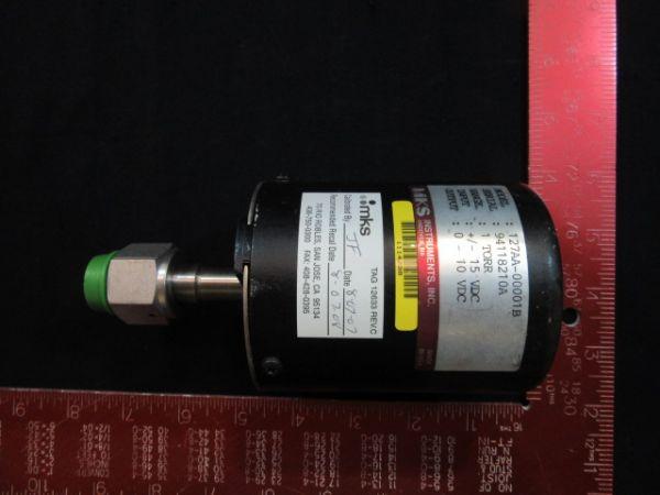 MKS 127AA-00001B BARATRON PRESSURE TRANSDUCER 1 TORR