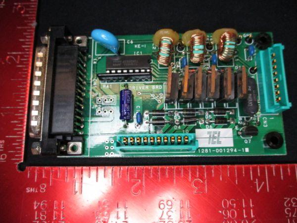 TOKYO ELECTRON (TEL) 1281-001294-11   PCB, DRIVER