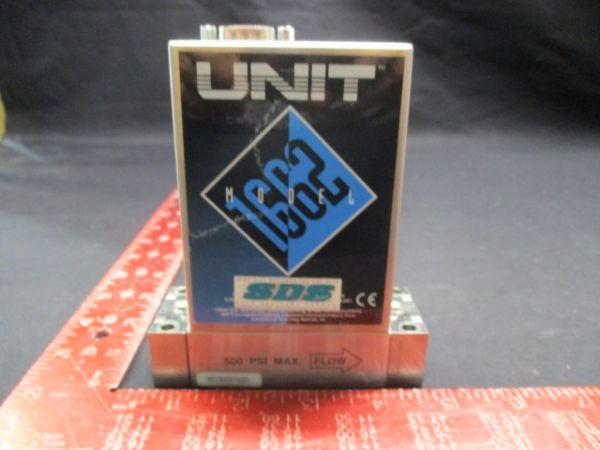UNIT INSTRUMENTS 1662-100123 MASS FLOW CONTROLLER MODEL: UFC-1662 RANGE: 2 SCCM GAS:PH3