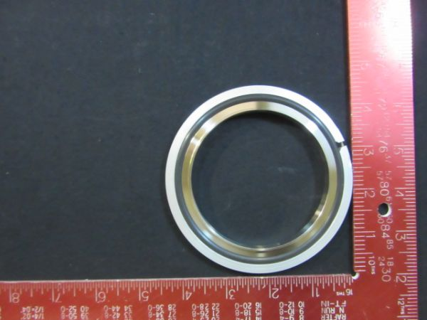 Applied Materials (AMAT) 3700-02030   SEAL CTR RING ASSEMBLY NW80 WITH VITON ORING SS