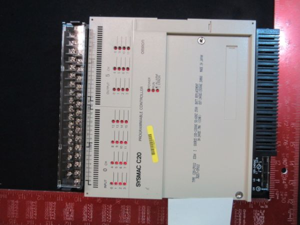 Omron 3G2C7-CPU12 NEW (Not in Original Packaging) SYSMAC C20 PROGRAMMABLE CONTROLLER