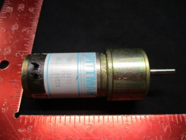 Applied Materials (AMAT) 58-35027-00 PITTMAN MOTORS 58-35027-00 GEAR MOTOR 24VDC