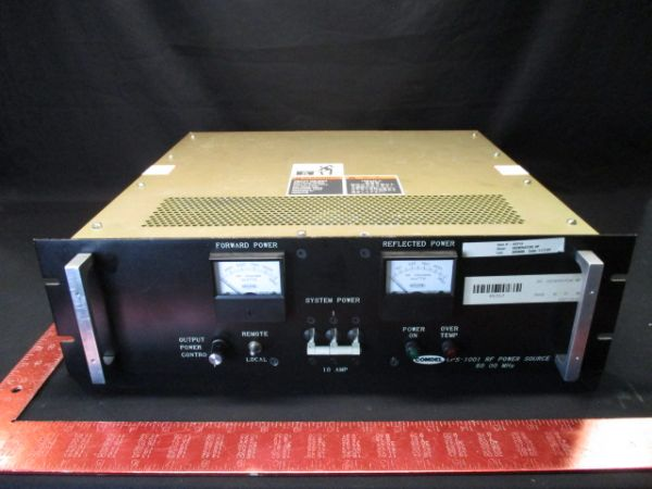 Comdel CPS-1001/60 RF POWER SOURCE 60.00 MHz 208VAC 3 PHASE GENERATOR
