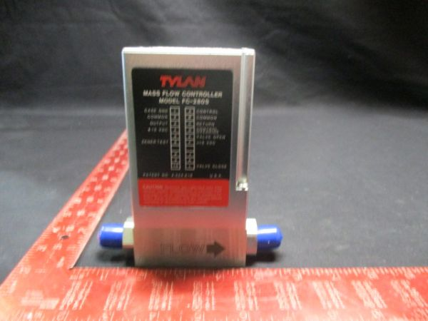 TYLAN GENERAL FC-280SAV MASS FLOW CONTROLLER RANGE: SLPM GAS:O2