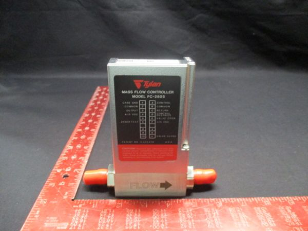 VARIAN 0150018271 TYLAN GENERAL FC-280SAV MASS FLOW CONTROLLER 200SCCM GAS: O2