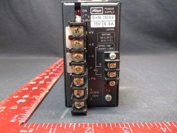 VOLGEN GXN-156R6 POWER SUPPLY, 15V 6.6A