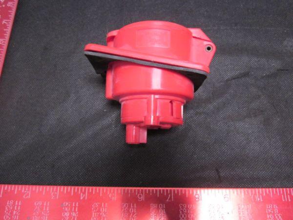 GEWISS GW-62-221 SOCKET 380V 3PH RED 5X32A