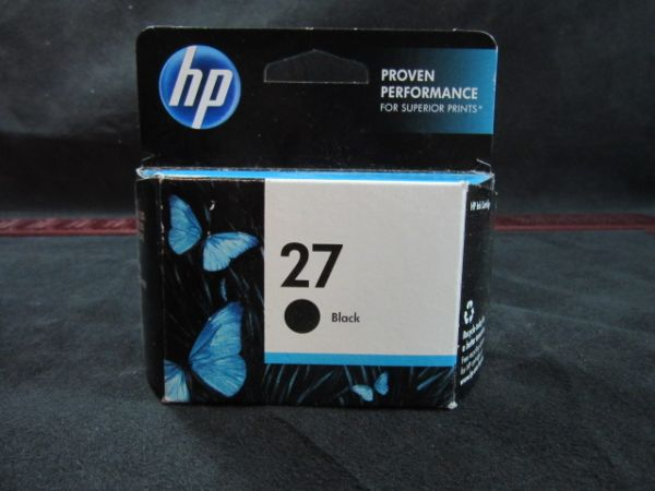 HP C8727AN HP 27 Black Original Ink Cartride C8727AN