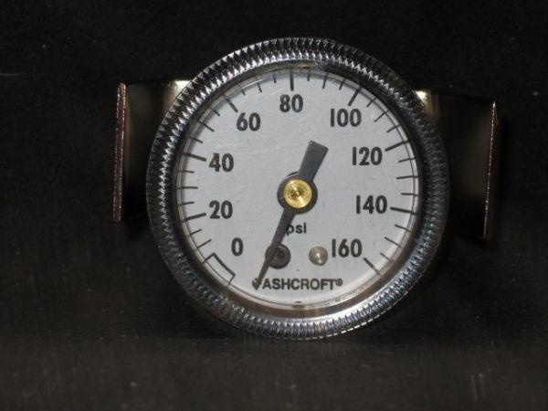ASHCROFT K30001032 GAUGE PRESSURE 0-160 18 BCKMNT W CLAMP