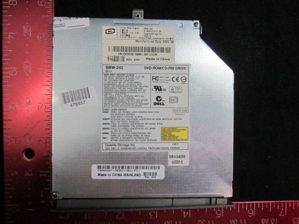 DELL SBW-242 DVD-ROM-CD-RW DRIVE