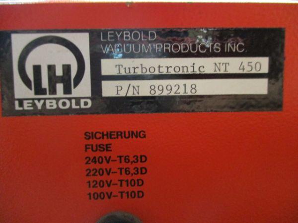 INFICON-LEYBOLD-OERLIKON 899218 VACCUM METER,