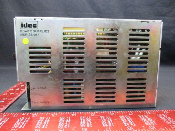 IDEC IZUMI CORP MSR-2646A POWER SUPPLY