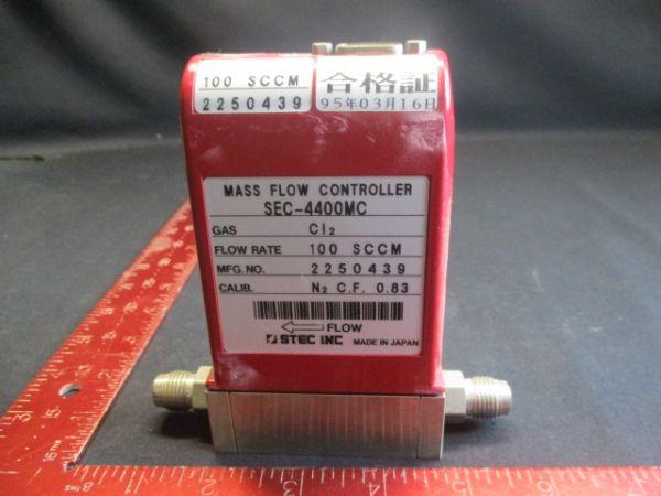 HOREBIA/STEC SEC-4400-CI2-100-SCCM FLOW RANGE: 100SCCM