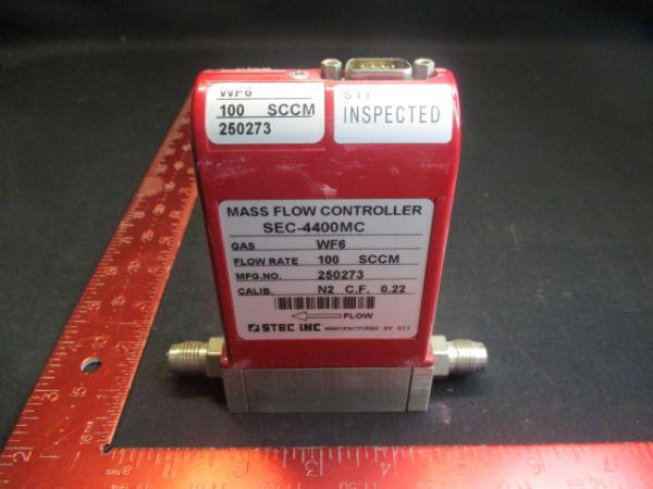 HOREBIA/STEC SEC-4400MC-100SCCM-N2 FLOW RATE: 100SCCM
