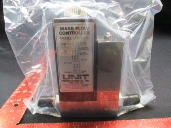 UNIT INSTRUMENTS UFC-1100A MASS FLOW CONTROLLER RANGE: 10 SLM GAS:N2
