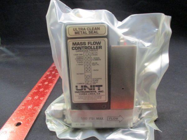UNIT INSTRUMENTS UFC-1260A MASS FLOW CONTROLLER RANGE: 2 SLM GAS:O2