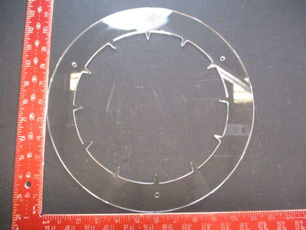 Applied Materials (AMAT) 0200-04180   COVER QUARTZ,8,EXT