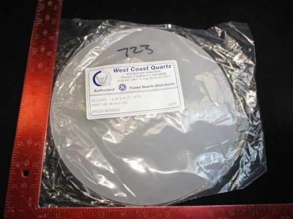 Applied Materials (AMAT) 0200-10147 WEST COAST QUARTZ  INSERTGDP 88 HOLE QUARTZ