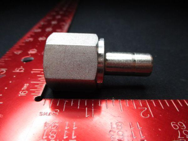 Applied Materials (AMAT) 0224-46244   FTG 1/2 FEM NPT X 1/2 TUBE, SST