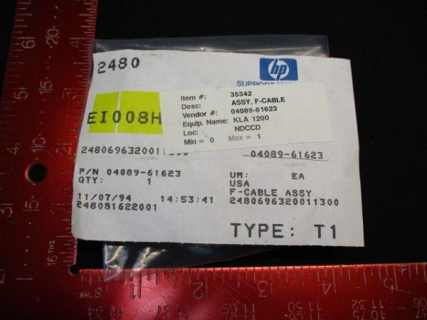 HEWLETT PACKARD (HP) 04089-61623 ASSY, F-CABLE