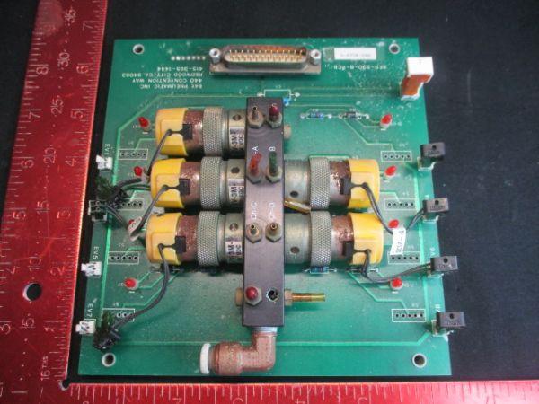 Applied Materials (AMAT) 0660-01102   PCB. PNEUMATIC CONTROL