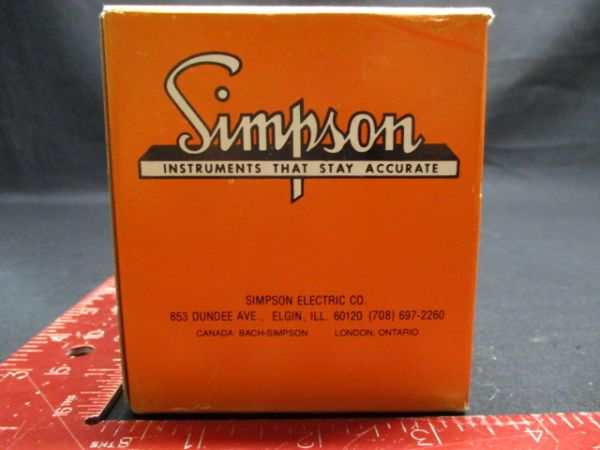 Applied Materials (AMAT) 1040-01041 Simpson 1227 METER