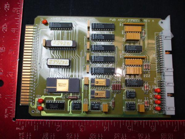 ASHER GAS CONTROL 239221R PCB
