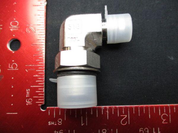 Applied Materials (AMAT) 3300-02848   FTG TBG EL 3/8TX3/4-16MNPTX9/16-18MSAE
