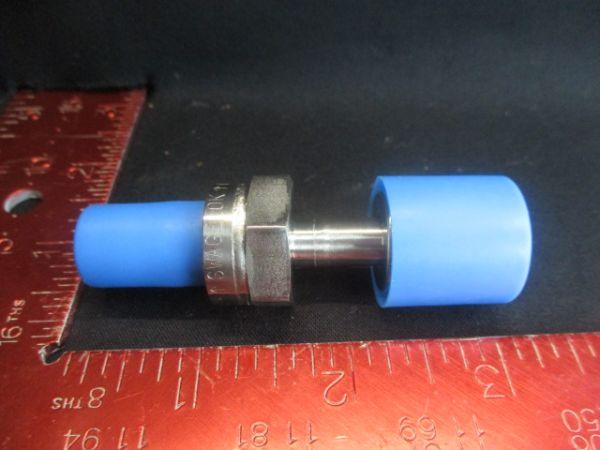 Swagelok 3870-02405 VALVE CHECK INLINE 1/4VCR-F/M 2PSID CW S