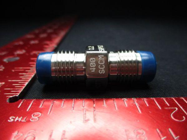 MOTT CORP 5009583H10RA Restrictor, Flow, CL2 50Psi, 400Sccm