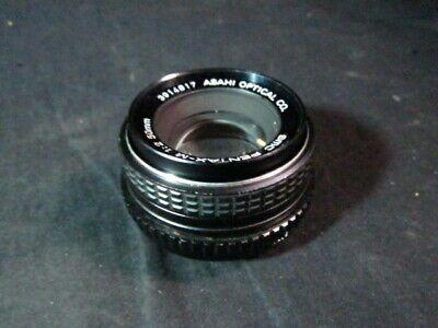 Asahi Opt Co 12 Lens 50mm SMC PENTAX-M
