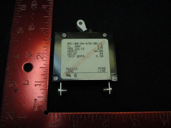 CARLINGSWITCH AA1-B0-24-475-3B1-C BREAKER, CIRCUIT 7 1/2 AMP