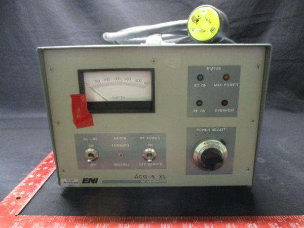 NOVELLUS P61-2337 ENI ACG-5-01M14 RF GENERATOR, POWER SUPPLY